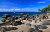 Hermoso verano playa en phuket, tailandia — Foto de Stock
