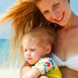 Mother with little nice daughter — Stock Photo #26700949