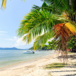 Foto de Stock  : Perfect thai beach with white sand