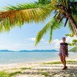 Perfect thai beach with a white sand — Stock Photo #26853261