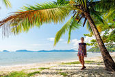 Perfect thai beach with a white sand — ストック写真