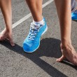Closeup of runners shoe - running concept — Stock Photo #29153185