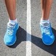 Closeup of runners shoe - running concept — Stock Photo #29153195