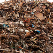 Stockfoto: Massive pile of junk