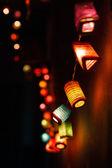 Boże Narodzenie światła backround — Zdjęcie stockowe