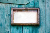 Old wooden frame closeup. — Stock Photo