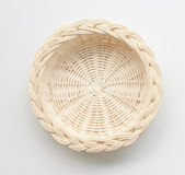 Wood basket — Stock Photo