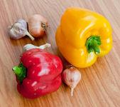 Fresh sweet paprika. — Stock Photo