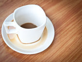Drunk Coffee cup . — Stock Photo
