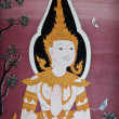 Buddhist murals — Stock Photo