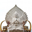 The guan yin buddha statue - Stock Photo