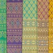 Pattern style Thai Silk — Stock Photo