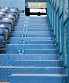 Football Stadium gate for exit — Stock Photo