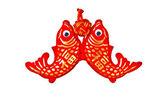 Goldener fisch — Stockfoto