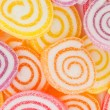 Stock Photo: Colorful sweet fruit candy.