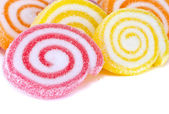 Colorful sweet fruit candy. — Stock Photo