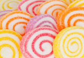 Colorful sweet fruit candy. — Foto Stock
