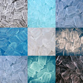 Background of ice — Stock Photo