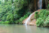 Phu Sang waterfall.Unseen inThailand — Stock Photo