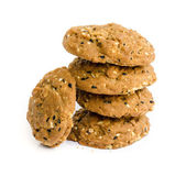 Chocolate chip cookies. — Stock Photo