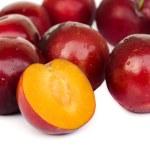 Ripe plums. — Stock Photo #46003851