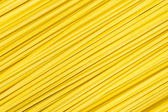 Uncooked italian spaghetti. — Stock Photo