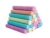 Colorful chalk . — Foto de Stock
