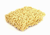 Uncooked  noodles  . — Stock Photo