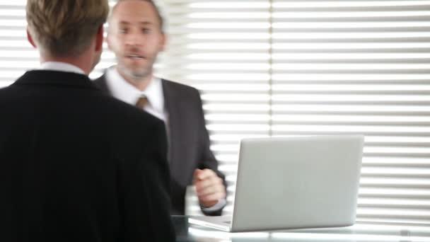 Réunion d'affaires, conversation — Vidéo