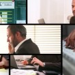 Stock Video: Business Screens