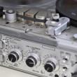 Vintage analog recorder reel to reel — Stock Video #13147576