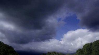 Cloud on sky before raining — Stok video