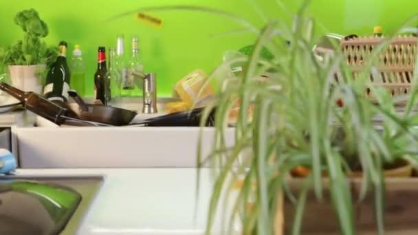 Cuisine gaspillé — Vidéo