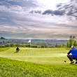 Golf-Trainingsgerät — Stockfoto
