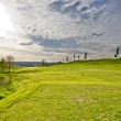 Golf puttinggreen — Stockfoto