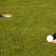 Golf putting green — Stockfoto