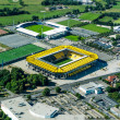 Aerial View of Stadium Alemannia Aachen Tivoli - Stock Photo