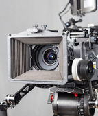 Cinema movie camera — Stok fotoğraf