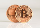 Bitcoins — Stock Photo