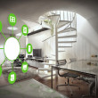 Smart home-Gerät - home Control — Stockfoto #42162953