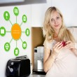 Stock Photo: Smart Home Device - Home Control