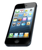 Neue moderne iphone 5 — Stockfoto