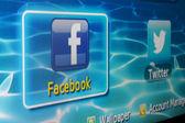 Facebook — Foto de Stock