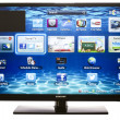 Smart TV with Samsung Apps and Web Browser — Stock Photo #20501409