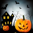Halloween background Vector — Stock Vector #12780971