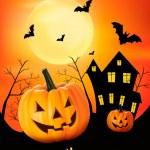 Halloween background Vector — Stock Vector #12780975