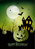 Halloween background Vector — Stock Vector