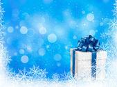 Ilustracja szablon szczęśliwy nowy rok nowy rok — Wektor stockowy