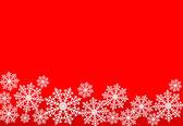 假日蓝色背景与雪花。矢量插画. — 图库矢量图片