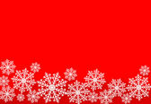 Holiday blue background with snowflakes. Vector illustration. — ストックベクタ